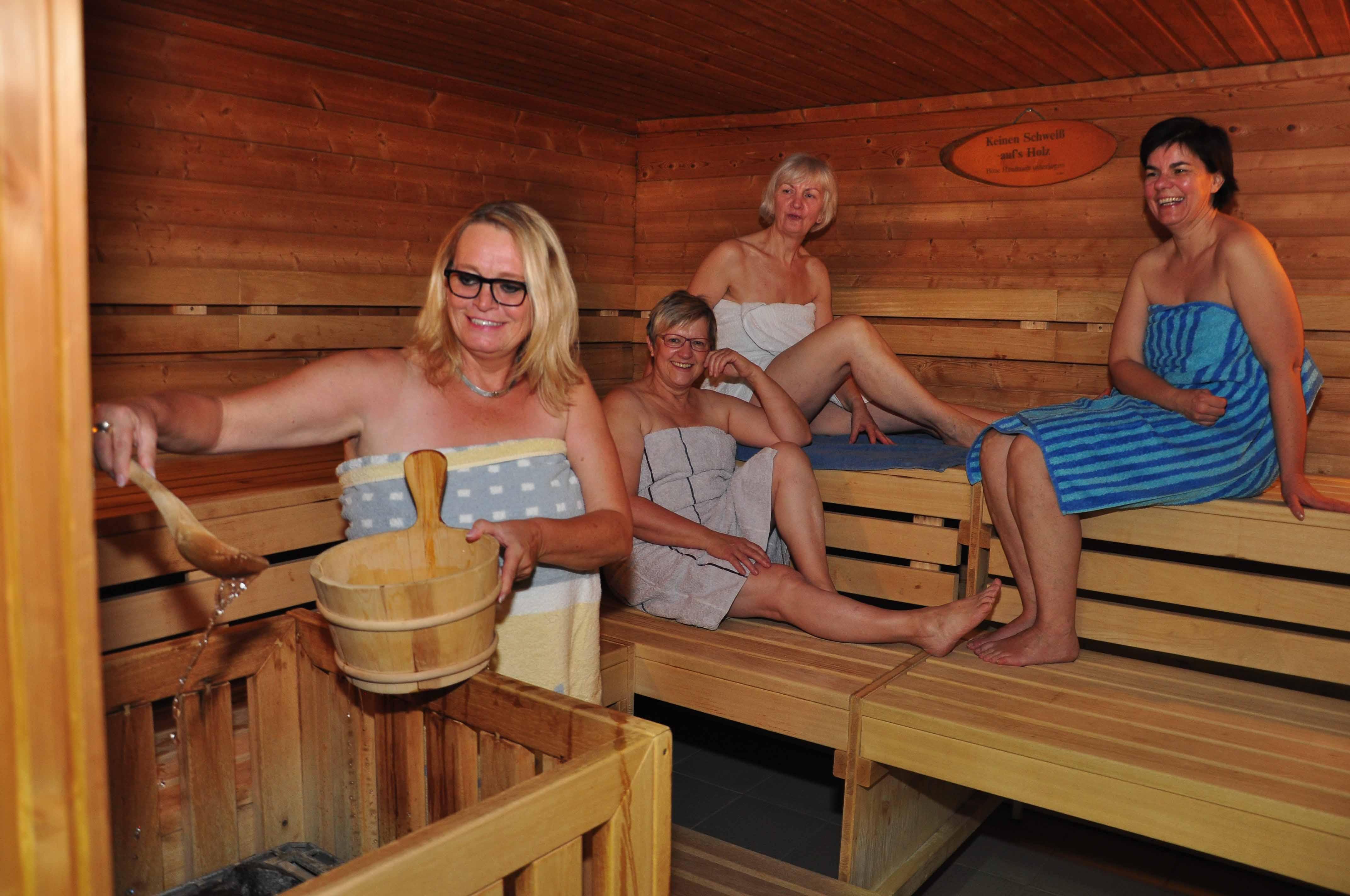 Sauna: Stadt Marienmünster